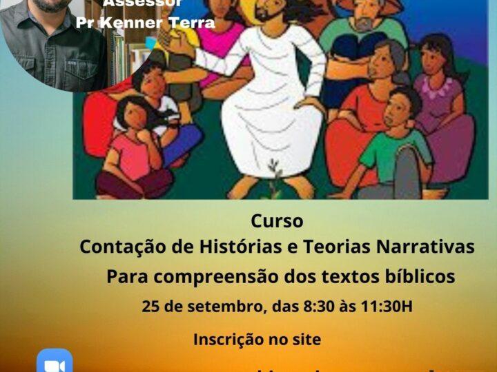 """Novo curso do CEBI-  """"Contação de histórias e teorias narrativas para compreensão dos textos bíblicos"""", com inscrições abertas!"""